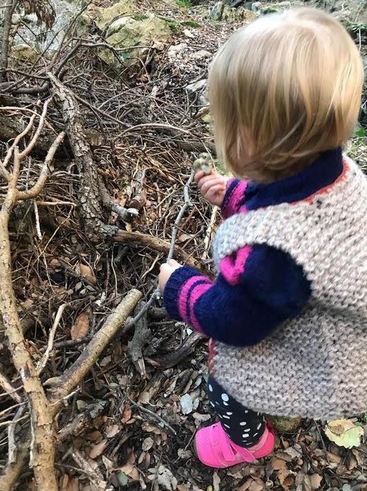 Exploratrice en herbe